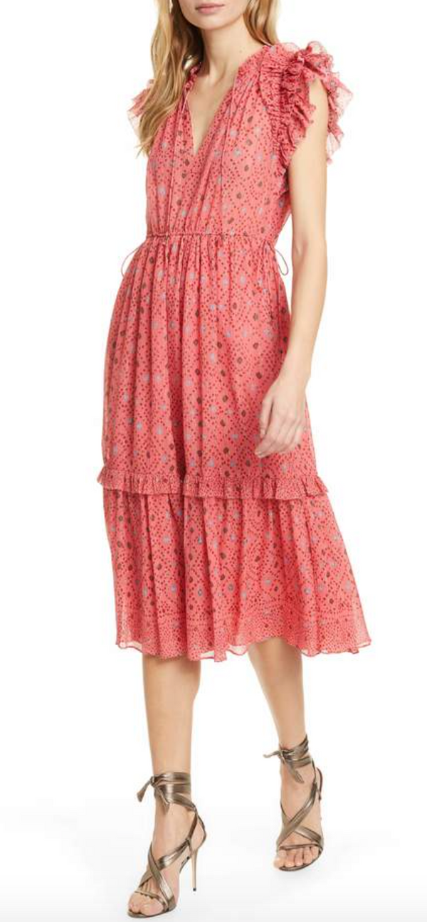 Ulla Johnson Linnea Dress - Hibiscus