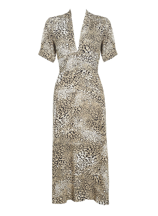 FAITHFULL MEADOWS MIDI DRESS SIGNE ANIMAL