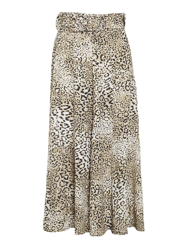 FAITHFULL LUDA MIDI SKIRT SIGNE ANIMAL