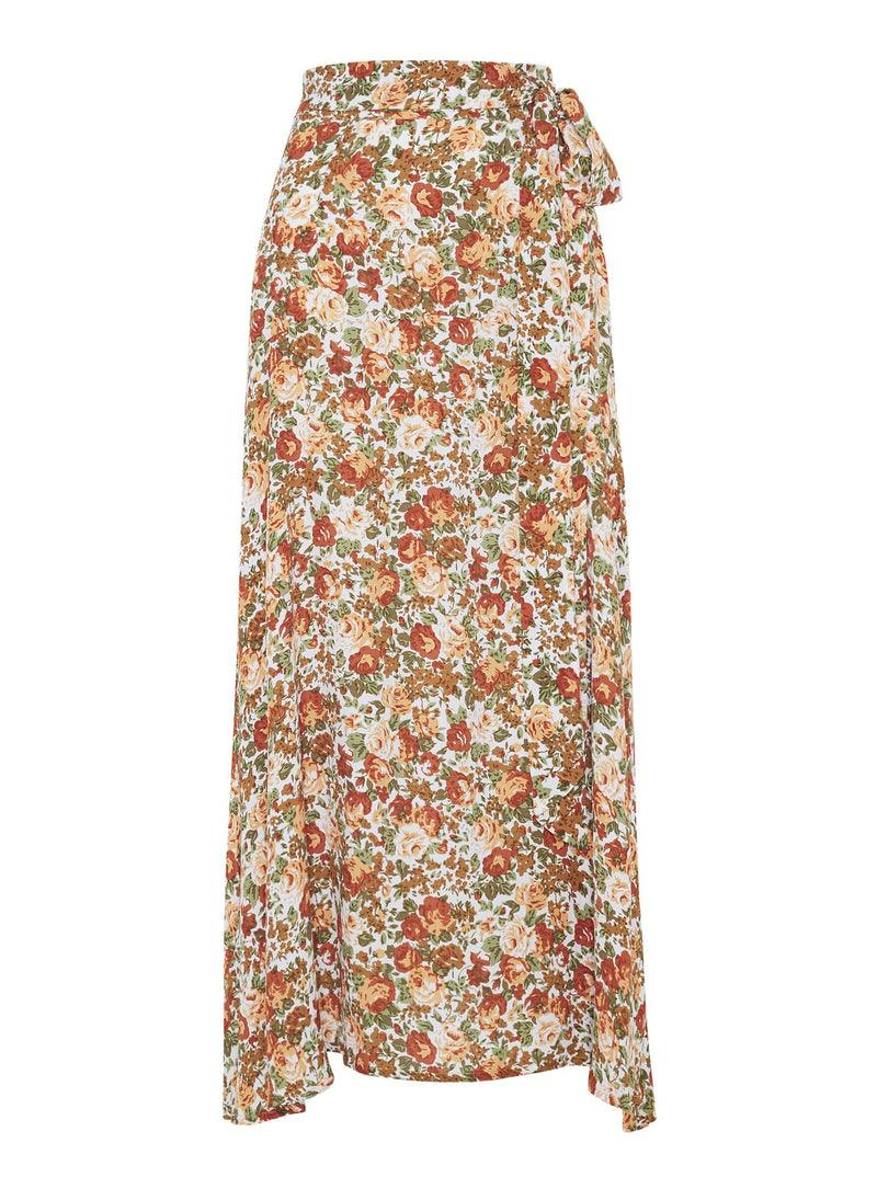 Faithfull The Brand - Asiya Skirt - Le Rose Floral Print