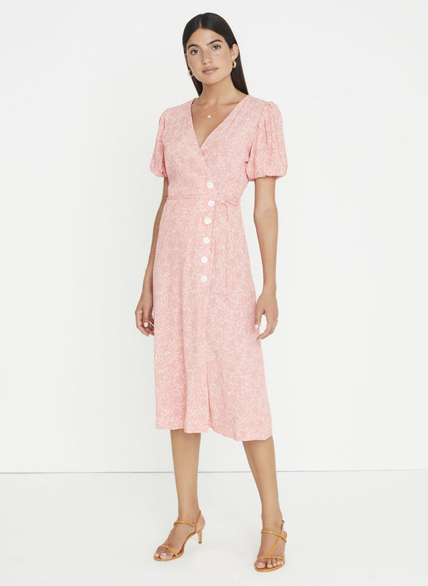 FAITHFULL FRAN MIDI DRESS MAURIE FLORAL