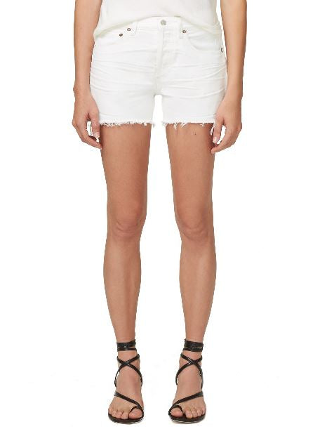 AGOLDE - Parker Cut Off Shorts - Tissue