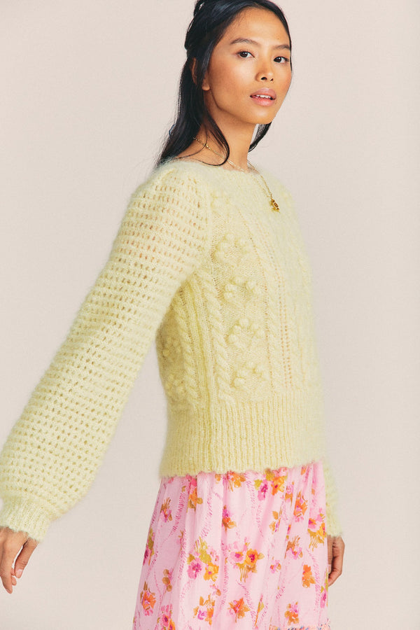 Loveshackfancy - Vyoma Pullover - Rise and Shine