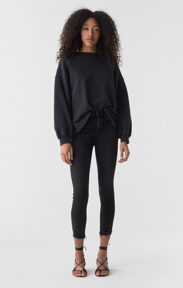 AGolde - Sophie High Rise Skinny Crop - Temple