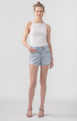 AGolde - Parker Vintage Cut-Off Short - Broken