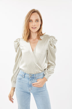 Generation Love - Adeline Blouse - Platinum