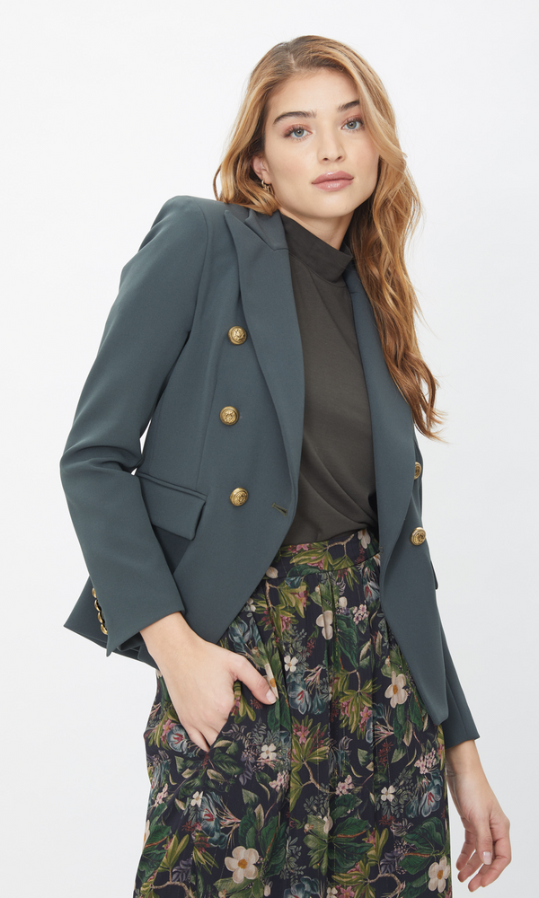 Generation Love - Alexa Blazer - Army Green