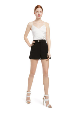 Alice + Olivia - Bradwin High Waist Short - Black
