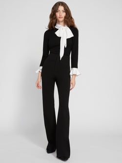 Alice + Olivia - Lorinda Super High Waisted Pants - Black