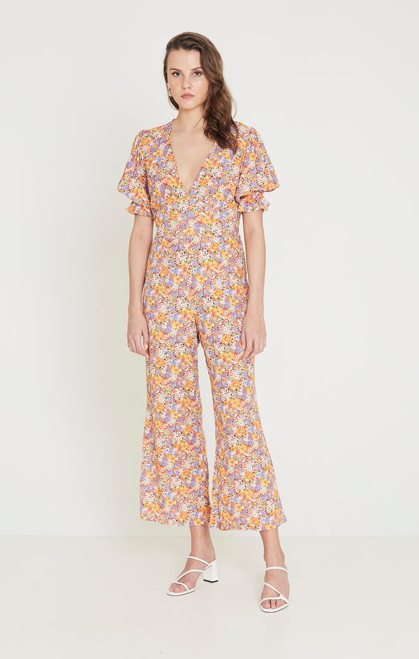 Faithfull The Brand - Anka Jumpsuit - Meja Floral Print