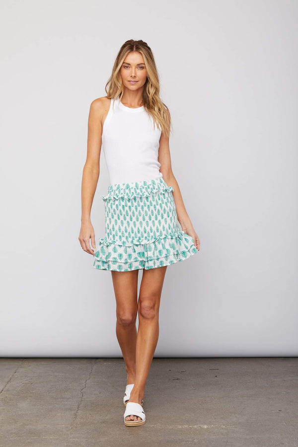 Sundays - Anna Skirt - Palm Print