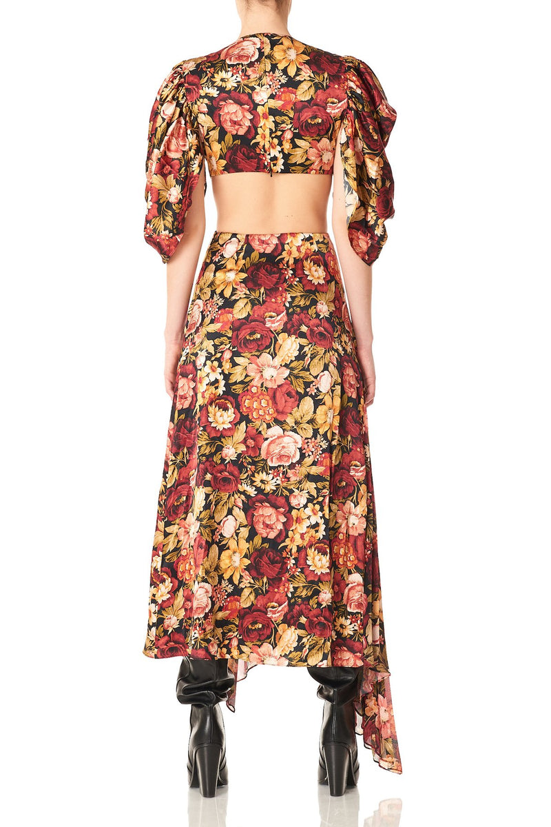Amur - Aspen Dress - Antique Red