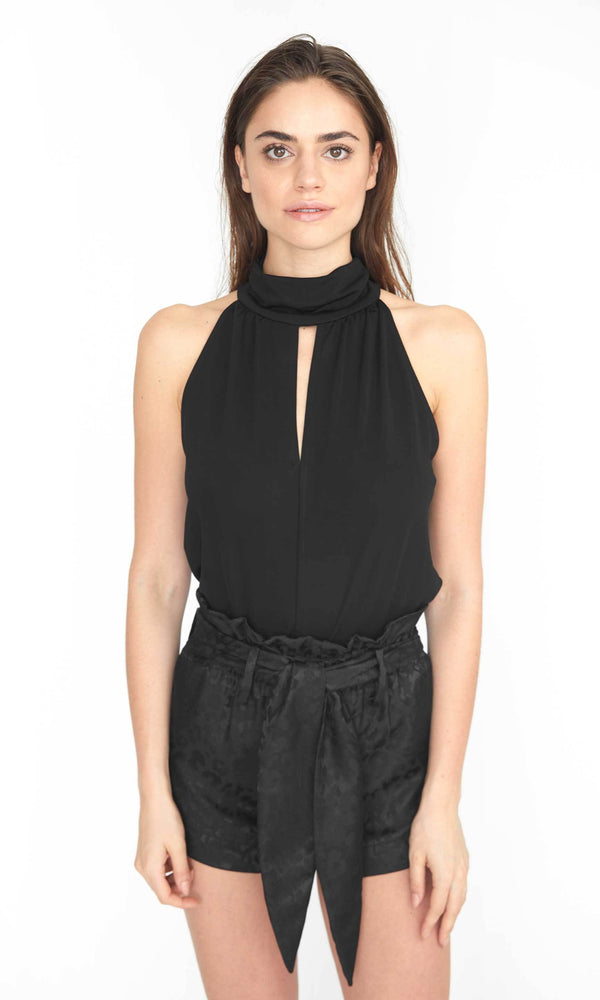 Generation Love - Arielle Top Knit Halter - Black