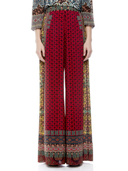 Alice & Olivia - ATHENA FLARED WIDE LEG PANT-Always forever multi