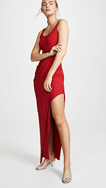 AMANDA UPRICHARD - TYRA DRESS - RED