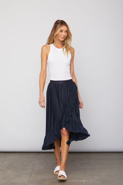 Sundays - Bacall Skirt - Navy
