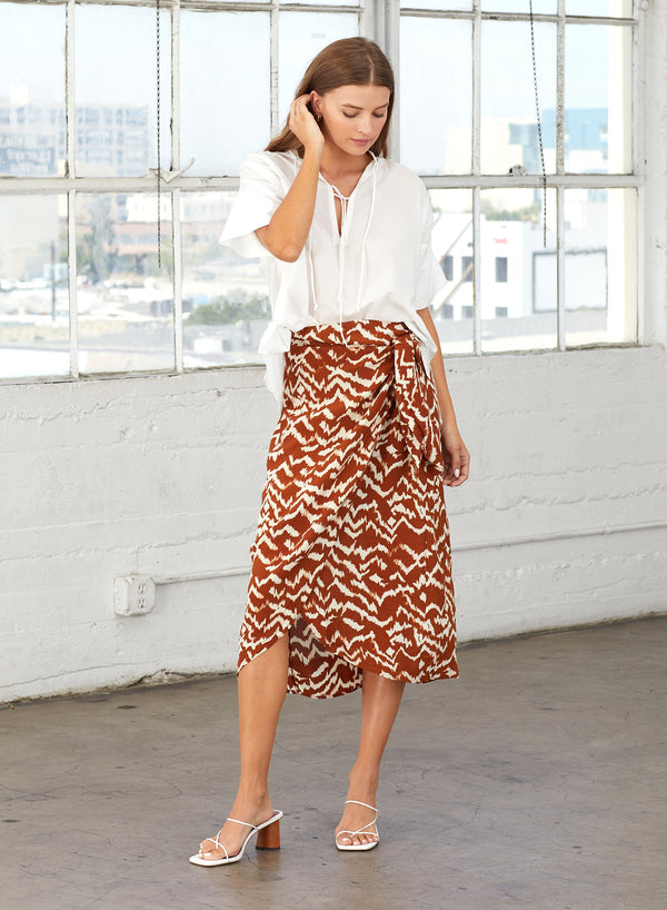 Cleobella - Barbados Skirt - Ginger