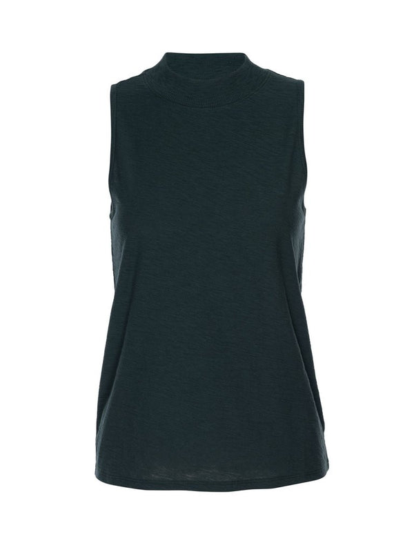Nation LTD - Bria Mock Neck Tank - Bottle