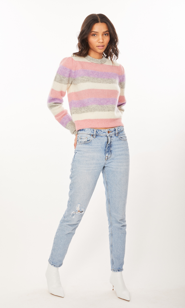 Generation Love - Brielle Sweater - Pink Multi