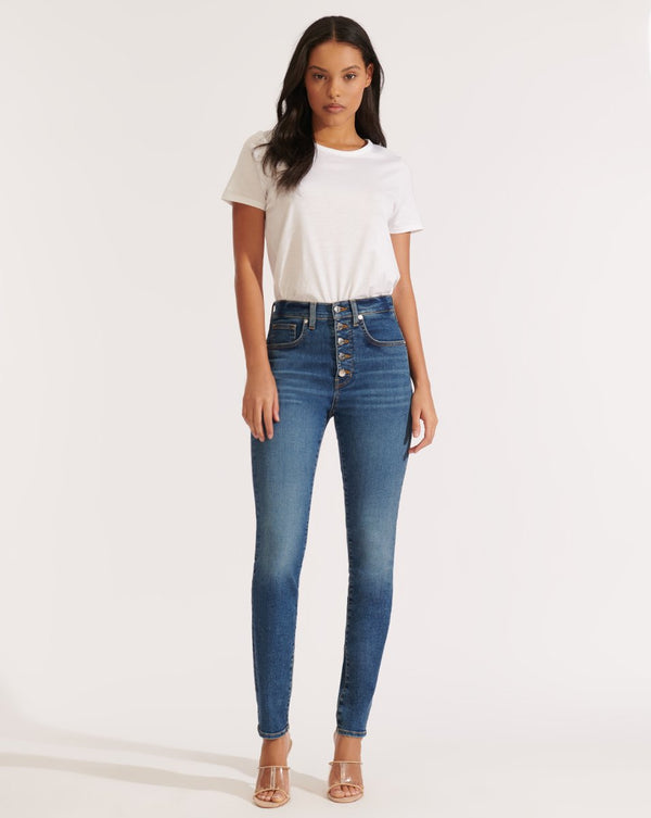 Veronica Beard - Debbie High Rise Skinny - Bright Stone