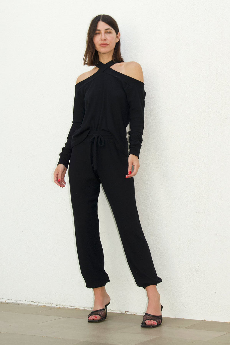 LNA - Brushed Rib Pant - Multiple Colors Available
