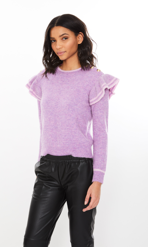 Generation Love - Brynlee Sweater - Purple/Pink