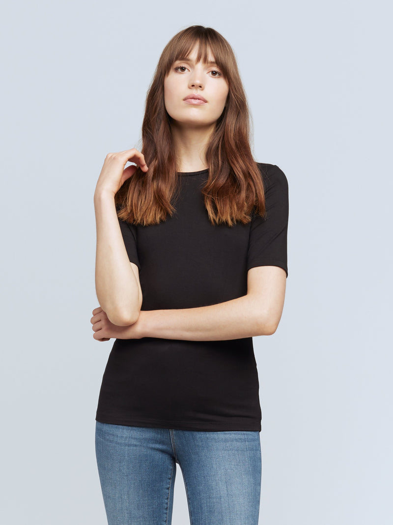 L'agence - Casey Tee - Black