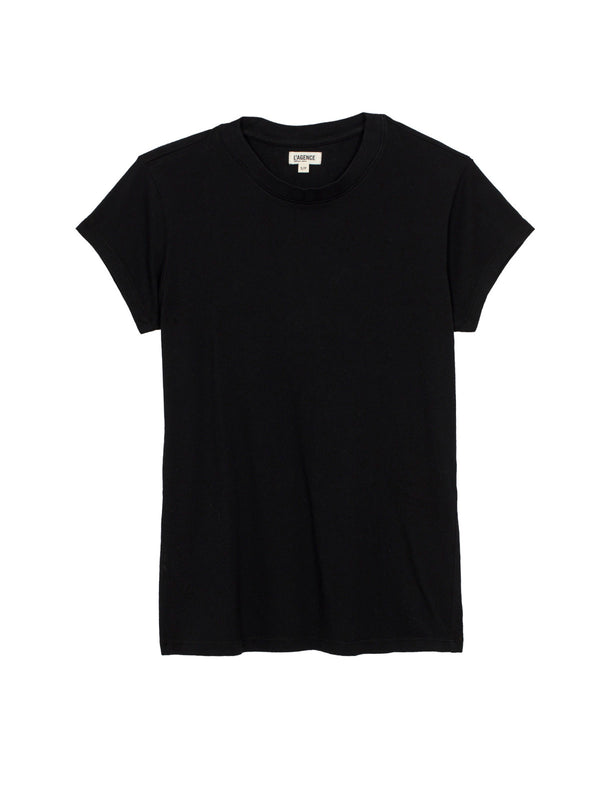 L'Agence - Cory Scoop Neck - Black
