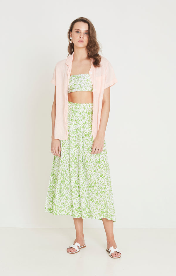 Faithfull The Brand - Cuesta Midi Skirt - Freja Floral Print