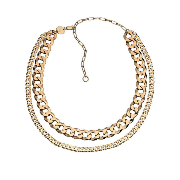 Jennifer Zeuner Jewelry - Dale Necklace 14K Yellow Gold Plated Silver
