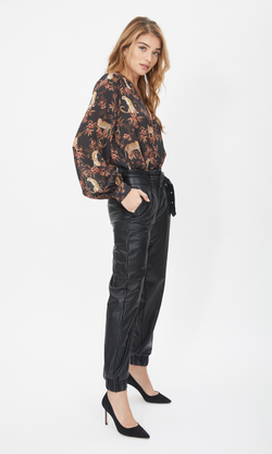 Generation Love - Danika Vegan Leather Pants - Black