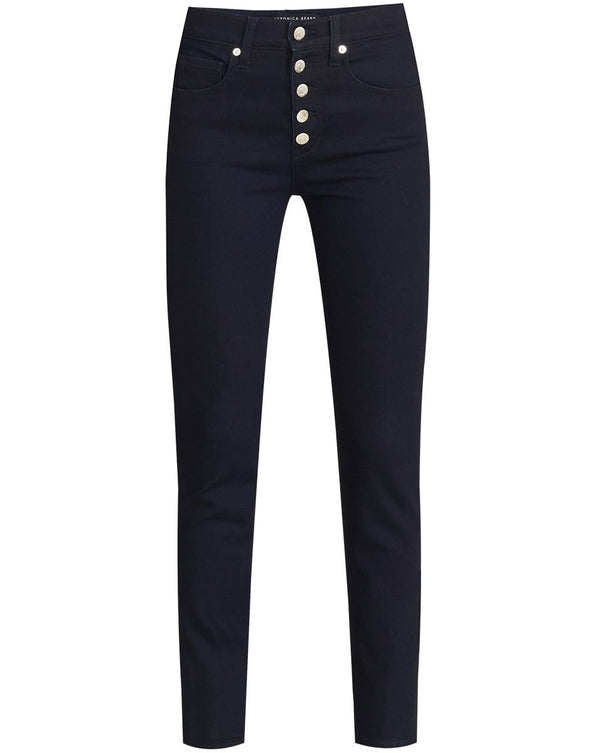 Veronica Beard - Debbie High Rise Skinny Ankle - Indigo