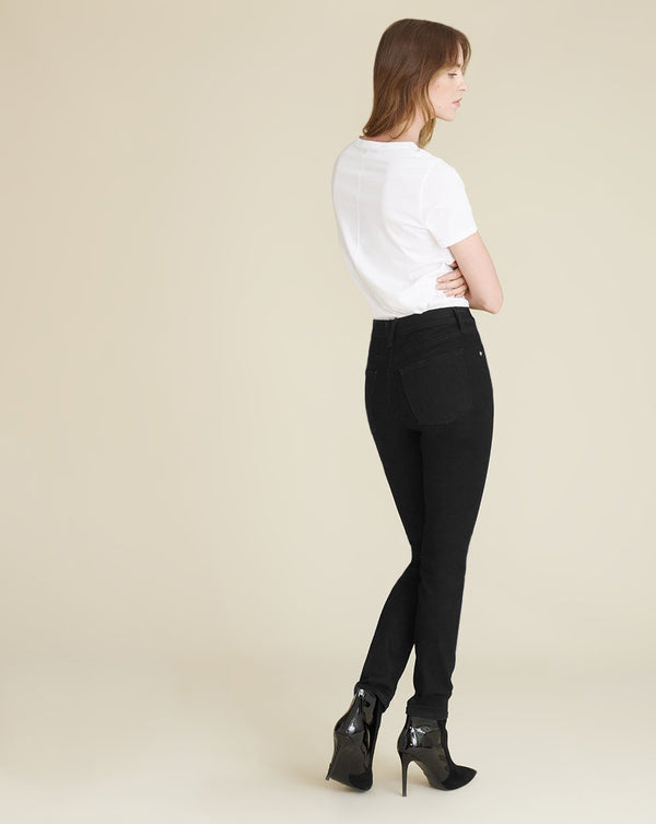 Veronica Beard - Debbie High Rise Skinny Ankle - Onyx