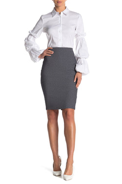 Bailey 44 - Skiff Woven Dot Skirt - Dot Multi