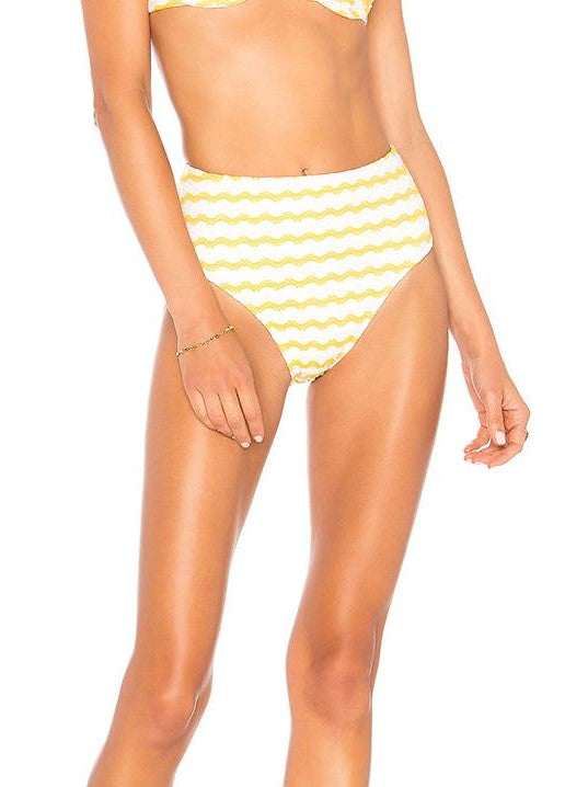 Ellejay -Gigi high rise bottoms - Lace Stripe