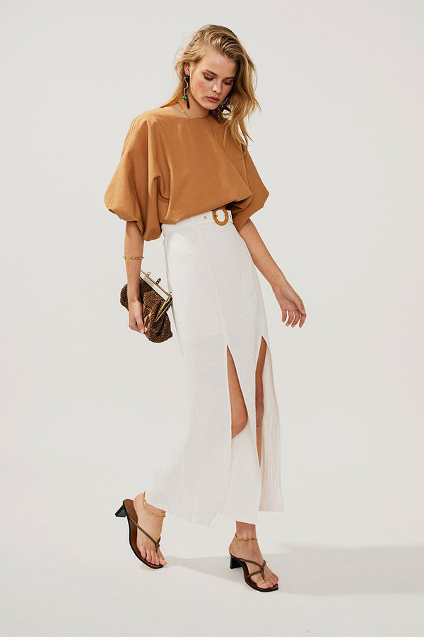 Suboo - Faith Maxi Skirt - Ivory