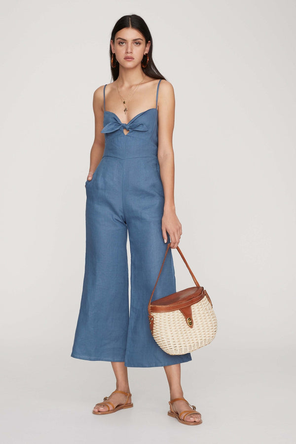 Faithfull The Brand - Presley Jumpsuit - Plain Wash Blue