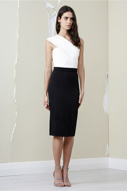 Finders Keepers -Ainsley Knit Skirt - Black