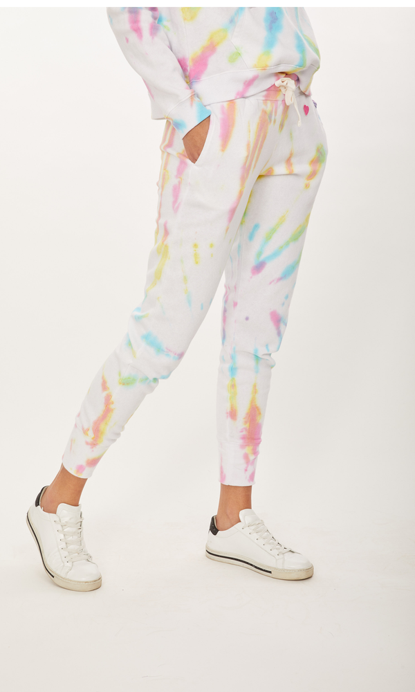 Generation Love - Florence Sweatpant - Electric Tie Dye