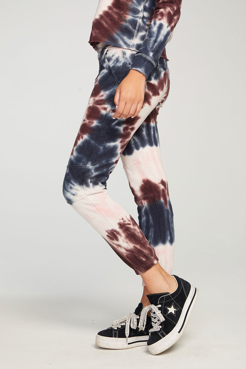 Chaser - Linen French Jogger - Tie Dye
