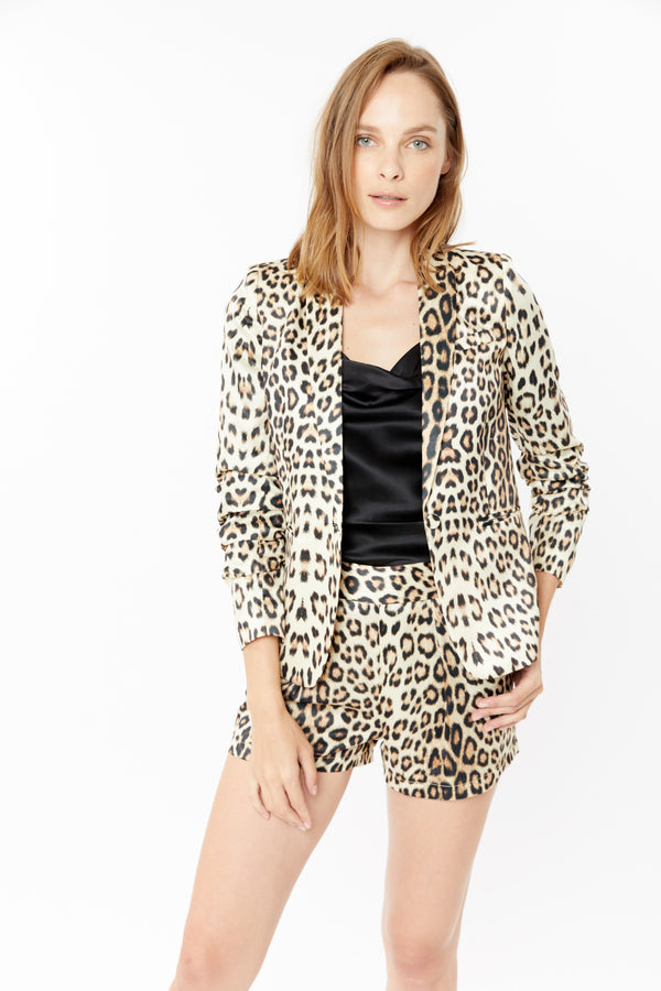 Generation Love - Esther Leopard Jacket - Leopard