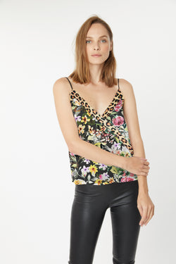 Generation Love - Orion Cami - Floral/Leopard
