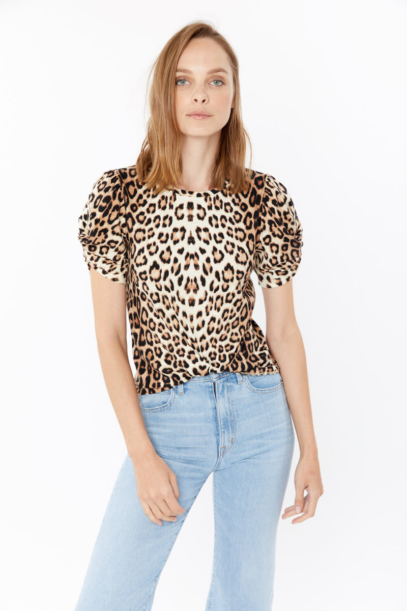 Generation Love - Paulina Twist Top - Leopard