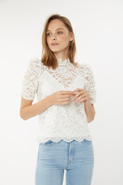 Generation Love - Regina Lace Top - Off White