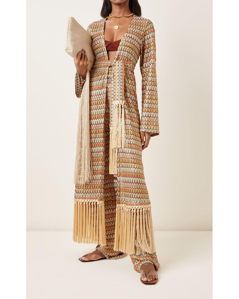 Alexis - Genista Robe - Multi Knit
