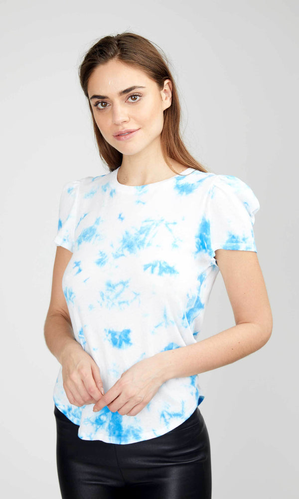 Generation Love - Kelly Puff Cloud T-Shirt - Blue/white