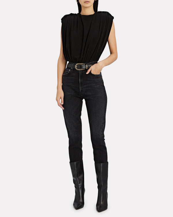 Agolde - Pinch Waist Ultra High Rise Skinny - Hotline