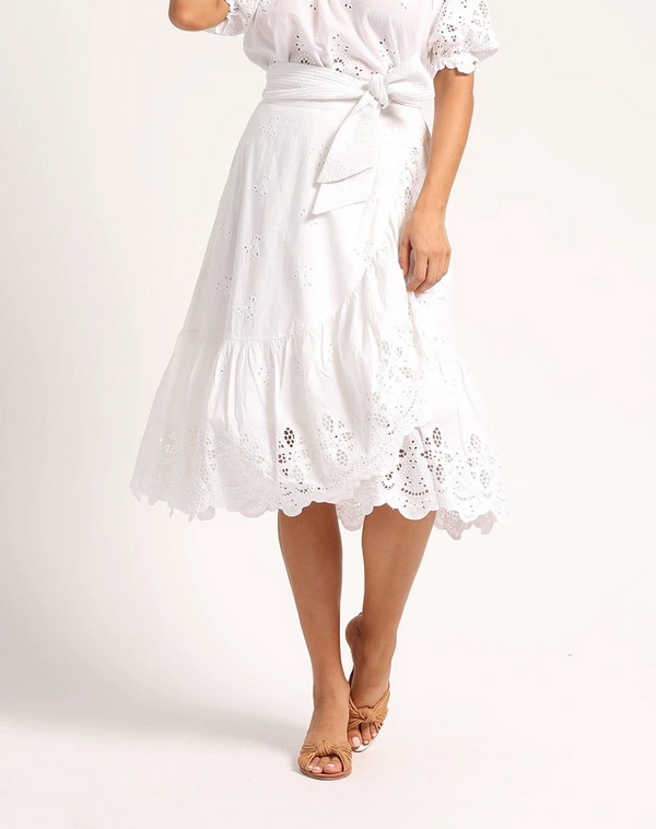 Cleobella - India Skirt - Ivory