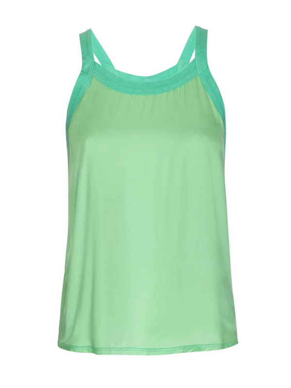 Nation ltd - Zora Scoop Tank - Electric Lime