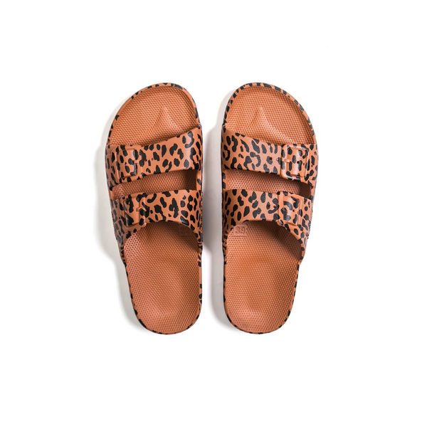 Freedom Moses - Adult Moses Sandal - Fancy Leo Toffee